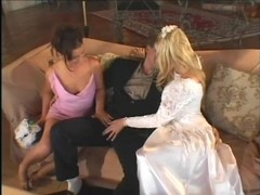 Wedding day ass to mouth threeway - Pandemonium Thumb