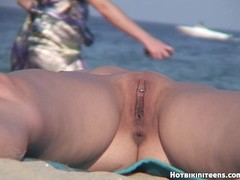 Hot pussy nudist milfs beach voyeur HD video Thumb