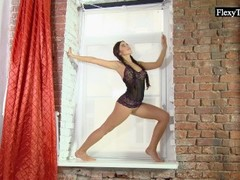 Tanja is a one flexible teen! Thumb