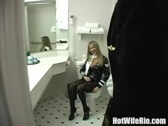 Great sex with beauty stewardess Thumb