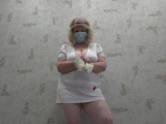 anal, anal fisting, a mature nurse with large natural titkyami Thumb