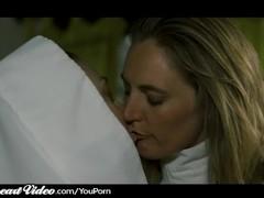 Mature Lesbian Nun Nina Hartley Sins With MILF Lover Thumb