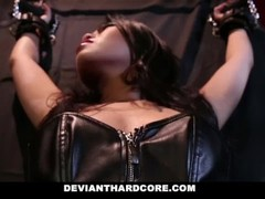 DeviantHardcore - Submissive Asian Teen Hardcore Plow Thumb