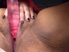 PUSSY TAKES 8IN DICK! Thumb