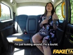 Fake Taxi Dirty driver loves fucking and licking hot tight Dutch pussy Thumb