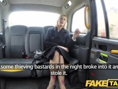Fake Taxi Mature Milf gets her big pussy lips stretched open Thumb