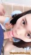 Chinese Cam Girl 刘婷 LiuTing - Public Bathroom Thumb