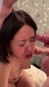 Amateur japanese wife facial Thumb