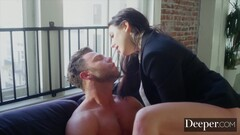 Deeper. Seth submits to dominant boss Angela White Thumb